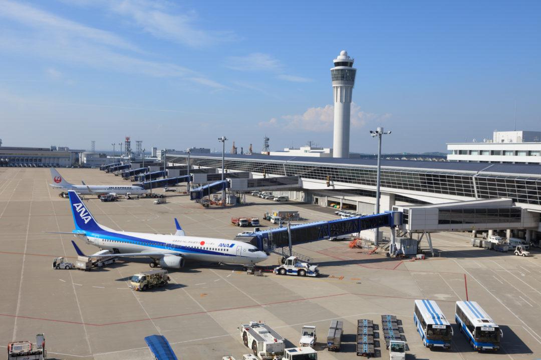 中部国際空港 セントレア デッキからの写真